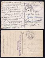 1915/17 2 Belege Von Marineeinheiten, Dabei 1 Beleg Aus Flandern - Non Classés