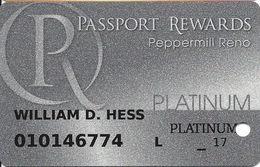 Peppermill Casino - Reno, NV - Platinum Slot Card - Casino Cards