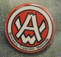 Pin Button Badge Ø38mm Trappistenbier WESTMALLE (bière) 4 - Beer