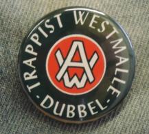 Pin Button Badge Ø38mm Trappistenbier WESTMALLE (bière) 5 - Beer