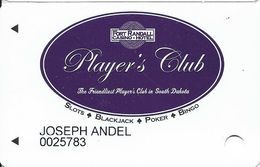 Fort Randall Casino - Wagner, SD - Slot Card - Casino Cards