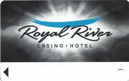 Royal River Casino - Flandreau, SD - BLANK Slot Card - Casino Cards