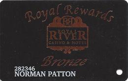 Royal River Casino - Flandreau, SD - Bronze Slot Card - Casino Cards