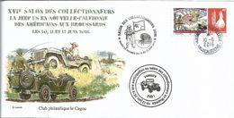 NOUVELLE CALEDONIE (New Caledonia)- Enveloppe événementielle Avec Timbre Personnalisé - 2016 - Jeep Nautile Nautilus - Covers & Documents