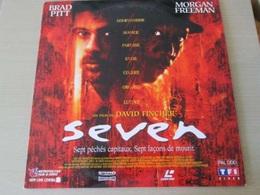 LASER DISC (format 33 Tours , Pas Un Dvd) SEVEN  Un Film De DAVID FINCHER - Sci-Fi, Fantasy