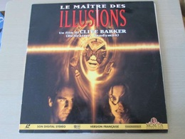 LASER DISC (format 33 Tours , Pas Un Dvd) LE MAITRE DES ILLUSIONS Film De CLIVE BARKER - Sciences-Fictions Et Fantaisie
