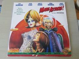LASER DISC (format 33 Tours , Pas Un Dvd) MARS ATTACKS ! Film De TIM BURTON - Sci-Fi, Fantasy
