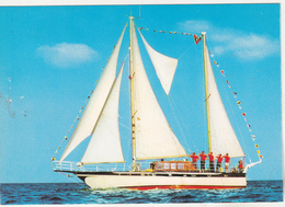 Germany Old Uncirculated Postcard - Training Ship Liberte - Segelboote