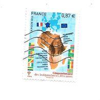 Cinquantenaire Des Indépendances Africaines 4496 Oblitéré 2010 - France