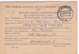 Prisoner Of War To German POW In Soviet, Camp 80/366 Posted Olbernhau10.4.1947   (G92-15) - Militaria
