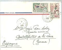 LETTER 1968 - Niger (1960-...)