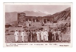 Maroc La Mosquée De Tin Mel Soldat Atlas Marocain Cpa Edit Flandrin - Morocco