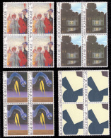 Belgium 2141/44** X 4 Culturelle MNH - Belgien