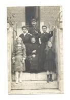 Photo Carte - Famille Avec Un Facteur En Uniforme, Postier,poste - Gemmenich, Ou Environs ???? A SITUER (Y58) - Professions