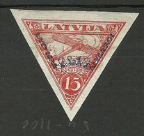 FAUX Fälschung LETTLAND Latvia 1931 Michel 191 B FAKE * - Lettonie