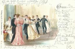 Gruss ... - N.L. Chrestensen - No 7005 - 1902 - Souvenir De...