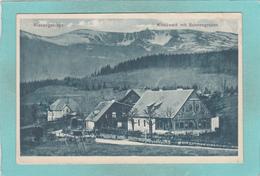 Old Small Postcard Of Riesengebirge,Kiesewald Mit Schneegruben,R48. - A Identifier