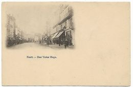 NIORT - Rue Victor Hugo - RARE CARTE PRECURSEUR - Niort