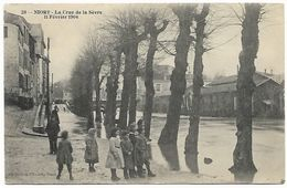 NIORT - La Crue De La Sèvre  11 Février 1904 - Niort