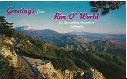 Etats-Unis > CA - California > San Bernardino MOUNTAINS RIM O WORLD HIGHWAY - San Bernardino
