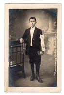 Cpa Carte-Photo Enfant  (Hamiaux-Photo,Cadillac,Dept 33,Gironde) - Other