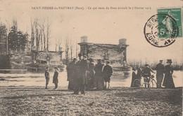 27 - SAINT PIERRE DU VAUVRAY - Ce Qui Reste Du Pont écroulé Le 7 Février 1913 - Autres Communes