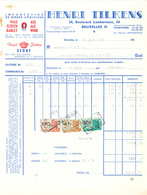 BRASSERIE -  Facture 1951 + Note D'Envoi Distributeur Tilkens Vers Brasserie De Keyzer à RENAIX   --  26/347 - Levensmiddelen