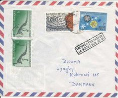 Belgium Air Mail Cover Sent To Denmark 1-2-1967 - Airmail