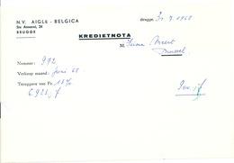 BRASSERIE -  3 Documents Divers , Dont Aigle Belgica BRUGGE , EENAME Et Alken-Maes   --  26/349 - Alimentaire