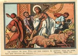 HOLY CARD IMAGE PIEUSE LA MAISON DE MON PERE .... 9 X 7 Cm - Images Religieuses