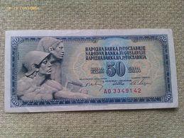 Billete Yugoslavia. 50 Dinares. 1968. Muy Buena Conservación - Yugoslavia