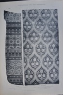 ARTS DECORATIFS TISSUS / BROCARD Etc... LOT DE 10 PLANCHES - Prints & Engravings