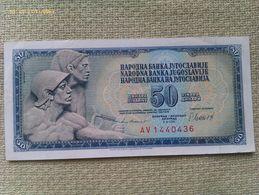 Billete Yugoslavia. 50 Dinares. 1981. Excelente Buena Conservación - Yugoslavia