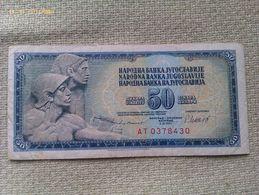 Billete Yugoslavia. 50 Dinares. 1981. Muy Buena Conservación - Yugoslavia