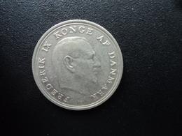 DANEMARK : 1 KRONE  1967 (h) C ; S    KM 851.1   SUP - Denmark