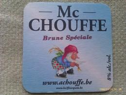 Posavasos Cerveza Chouffe. Bélgica. Años Actuales - Bierdeckel