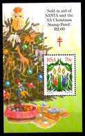 AFRIQUE DU SUD. BF 48 De 1996. Bougies/Ange/Girafe. - Christmas