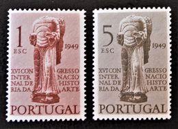 ANGE ROMAN 1949 - NEUFS ** - YT 724/25 - MI 738/39 - 1910-... République