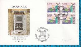 Denmark FDC Cover MiNr.818 / 300 Jahre Judische Gemeinde In Kopenhagen - FDC