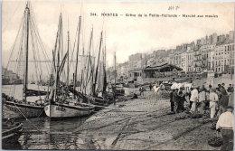 44 NANTES - Greve De La Petite Hollande, Marché Aux Moules - Nantes