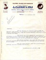 13.MARSEILLE.84.MORMOIRON.MALAUCENE.PLATRES BLANCS DE VAUCLUSE.A.CAUBET & FILS. - France