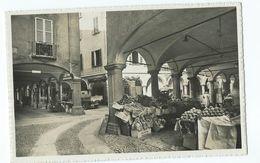 Postcard Switzerland 1939 Lugano Portici Di Via Pessini Unused - Other