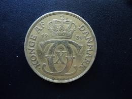 DANEMARK : 2 KRONER  1939 (h) N ; GJ    KM 825.2    TTB - Denmark