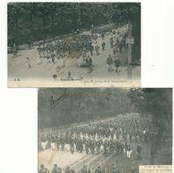 "Camp De Beverloo  "" Défilé  &  Départ Des Soldats  (voir Scan) - Leopoldsburg (Kamp Van Beverloo)"
