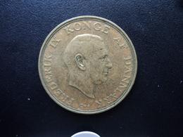 DANEMARK : 2 KRONER  1956 (h) C ; S    KM 838.2    TTB - Denmark