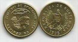 Guatemala 1 Centavo 1995. High Grade - Guatemala