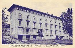 30)  MONT AIGOUAL   - Le Grand Hotel - France