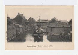 Armentières. La Lys Derrière Les Halles. Avec Péniche. (2621) - Armentieres