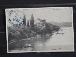 F07 -  Corfou - Village Hypso - Cachet Cuirassé Provence - - Grèce
