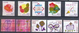 Japan - Happy Greetings Stamps 2015 - 1989-... Emperador Akihito (Era Heisei)